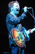 Radiohead - Thom Yorke at the Glastonbury Festival, Somerset, Britain - 28 June 2003