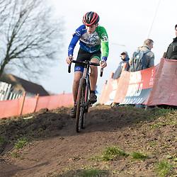 11-01-2020: Wielrennen: NK Veldrijden: Rucphen <br />Bart Kastelein