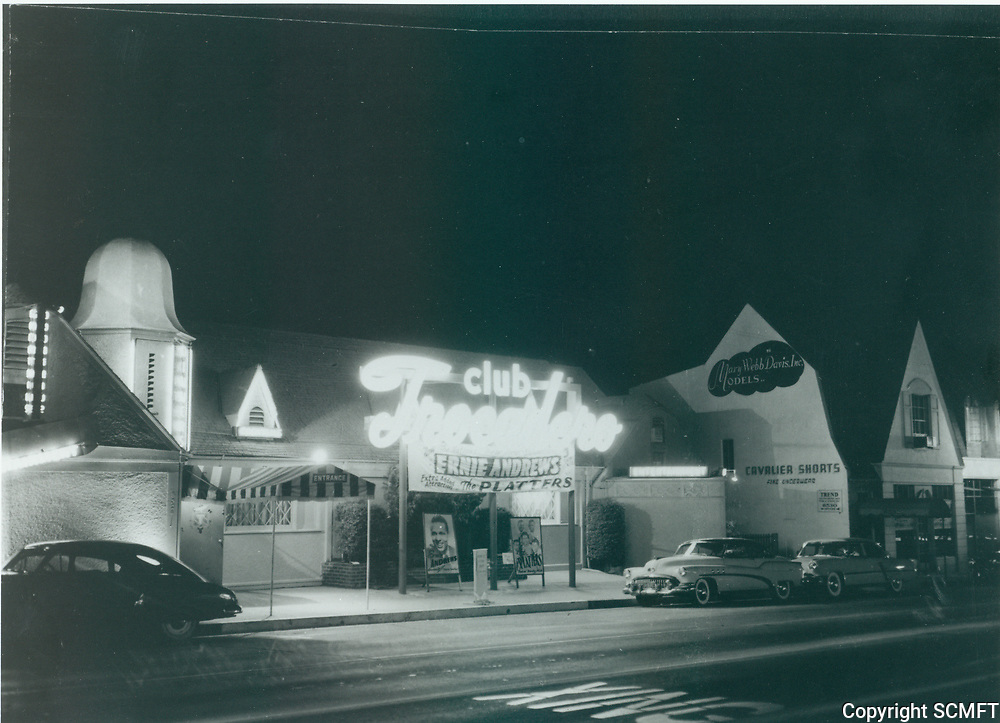 1956 Club Trocadero at 8524 Sunset Blvd.