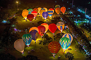 HAIKOU, CHINA - JUNE 16: (CHINA OUT) <br /> <br /> The 7th Haikou Hot Air Balloon Festival<br /> <br /> Hot air balloons during the 7th Haikou Hot Air Balloon Festival on June 16, 2013 in Haikou, Hainan Province of China. The 7th Haikou Hot Air Balloon Festival as well as the H1 Hot Air Balloon Challenge, kicks off in Haikou on June 15th and will last until June 18th. The event has attracted 30 top hot air ballooning teams, and 15 of them will enter the challenge to fly across the Qiongzhou Strait in their hot air balloons. During the 4-day period, a series of exciting and romantic activities will be held, such as a hot air balloon flying experience event for citizens and a fire-breathing show. <br /> ©Exclusivepix