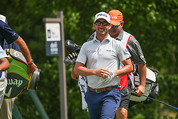 May 23, 2019 - Forth Worth, TX, U.S. - FORTH WORTH, TX - MAY 23: Andrew Landry walks off the 6th tee during the first round of the Charles Schwab Challenge on May 23, 2019 at Colonial Country Club in Fort Worth, TX. (Photo by George Walker/Icon Sportswire) (Credit Image: © George Walker/Icon SMI via ZUMA Press)