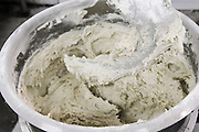 Industrial Bakery. Kneading dough