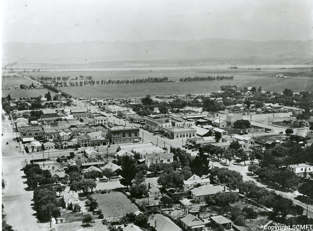 1918 View of the City of San Fernando