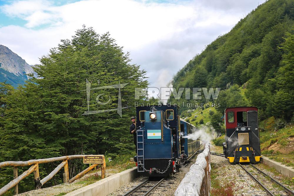 Maquinista do Trem do Fim do Mundo - Ushuaia,  Patagônia. FOTO: Jefferson Bernardes/ Agência Preview