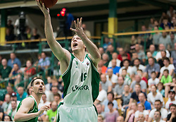 Marko Josilo of Krka during basketball match between KK Krka Novo mesto and  KK Petrol Olimpija in 4th Final game of Liga Nova KBM za prvaka 2017/18, on May 27, 2018 in Sports hall Leona Stuklja, Novo mesto, Slovenia. Photo by Vid Ponikvar / Sportida