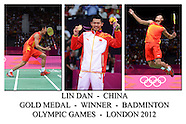 Badminton Medal Winners - London 2012