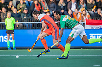 AMSTELVEEN - Thierry Brinkman (Ned)     tijdens  de tweede  Olympische kwalificatiewedstrijd hockey mannen ,  Nederland-Pakistan (6-1). Oranje plaatst zich voor de Olympische Spelen 2020..   COPYRIGHT KOEN SUYK
