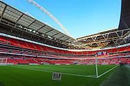 Wembley Stadium during the UEFA European 2016 Qualifier match between England and Estonia at Wembley Stadium, London, England on 9 October 2015. Photo by Shane Healey.