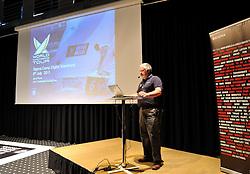 The WMRT CEO, Jim O'Toole speaking at Sigma Camp Digital. Photo: Chris Davies/WMRT