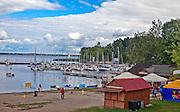 Wilkasy (woj. warmińsko-mazurskie) 12.08.2012 Malowniczo położony port jachtowy w Wilkasach