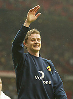 Photo: Aidan Ellis.<br /> Manchester United v Charlton Athletic. The Barclays Premiership. 07/05/2006.<br /> United's Ole Gunnar Solskjaer