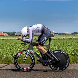 EMMEN (NED) June 16: <br />CYCLING <br />Dutch Nationals Time Trail men U23<br />Ian Spenkelink