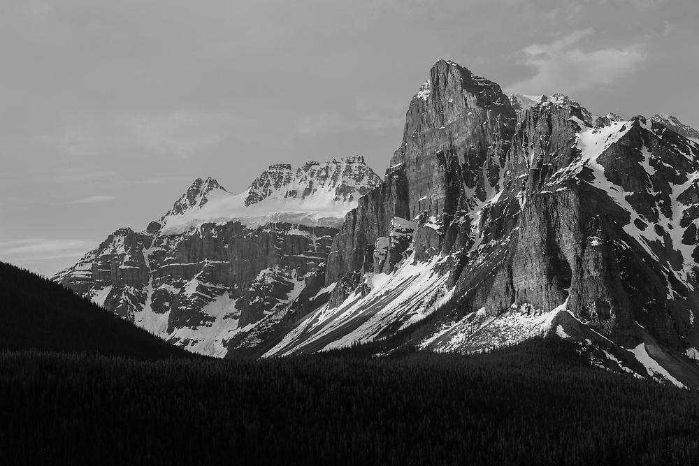 Mt Quadra and Babel, Banff National Park, Alberta, Canada