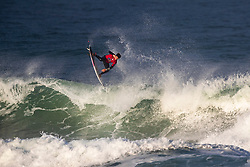 Griffin Colapinto (USA) surfing in Qualifying Round Heat 1 of the WSL Redbull Airborne event in Hossegor, France.