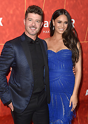 Robin Thicke, April Geary attend the amfAR Gala Los Angeles 2018 at Wallis Annenberg Center for the Performing Arts on October 18, 2018 in Beverly Hills, CA, USA. Photo by Lionel Hahn/ABACAPRESS.COM