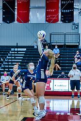 28 September 2021:    Ridgeview Mustangs at Heyworth Hornets Girls Volleyball at Heyworth Illinois