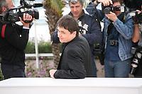 Cristian Mungiu, Director, at the Dupa Dealuri film photocall at the 65th Cannes Film Festival. Saturday 19th May 2012 in Cannes Film Festival, France.