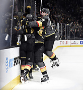 LAS VEGAS, NV - DECEMBER 19: skates against the Tampa Bay Lightning during the game at T-Mobile Arena on December 19, 2017 in Las Vegas, Nevada. (Photo by Jeff Bottari/NHLI via Getty Images) *** Local Caption ***