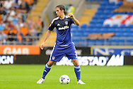Cardiff City's Peter Whittingham in action. Skybet football league championship match, Cardiff city v Wolverhampton Wanderers at the Cardiff city stadium in Cardiff, South Wales on Saturday 22nd August 2015.<br /> pic by Carl Robertson, Andrew Orchard sports photography.