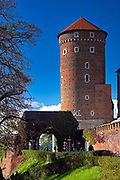 Baszta Sandomierska, Wawel<br /> Sandomierz Tower, Wawel castle, Cracow, Poland