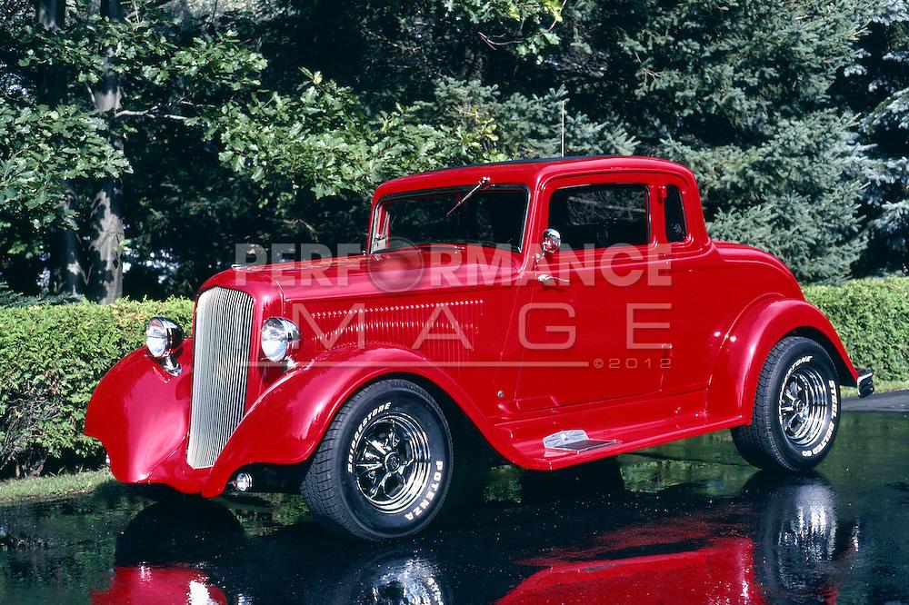 1933 Custom Plymouth 5 Window Coupe