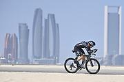 Foto LaPresse - Fabio Ferrari<br /> 22 Febbraio 2021 Abu Dhabi (Emirati Arabi Uniti)<br /> Sport Ciclismo<br /> UAE Tour 2021 -ABU DHABI SPORTS COUNCIL STAGE-<br /> Tappa 2 - Da Al Hudayriyat Island a Al Hudayriyat<br /> Island- ITT - 13 km.<br /> Nella foto: ANDERSEN Asbjørn(DEN)(TEAM DSM)<br /> Photo LaPresse - Fabio Ferrari<br /> February 22 2021 Abu Dhabi (United Arab Emirates) <br /> Sport Cycling<br /> UAE Tour 2021 -ABU DHABI SPORTS COUNCIL STAGE-<br /> Stage 2 - From Al Hudayriyat Island at Hudayriyat<br /> Island - ITT -8,07 miles<br /> In the pic:ANDERSEN Asbjørn(DEN)(TEAM DSM)