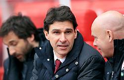 Middlesbrough manager Aitor Karanka during the match