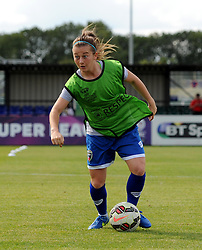 Christie Murray of Bristol Academy Women warms up before the FAWSL Continental Tyres Cup game between Bristol Academy Women and Liverpool Ladies on 13 September 2015 in Bristol, England - Mandatory by-line: Paul Knight/JMP - Mobile: 07966 386802 - 13/09/2015 -  FOOTBALL - Stoke Gifford Stadium - Bristol, England -  Bristol Academy Women v Liverpool Ladies FC - FA WSL Continental Tyres Cup