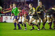 Gloucester, Gloucestershire, UK., 04.01.2003, scrum action from the,  Zurich Premiership Rugby match, Gloucester vs London Wasps,  Kingsholm Stadium,  [Mandatory Credit: Peter Spurrier/Intersport Images],