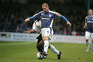 Gabor Gyepes of Cardiff City. Coca Cola championship, Cardiff City v Sheffield Wednesday at Ninian Park, Cardiff on Sat 20th Dec 2008. pic by Andrew Orchard, Andrew Orchard sports photography,