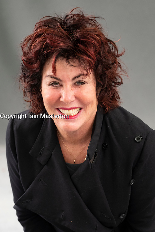 """Edinburgh, Scotland, UK; 19  August, 2018. Pictured; Comedian Ruby Wax. Her new book """" How to be Human: The Manual"""", shares her tips for having a healthy mind in a world where new equals best and keeping up is tough."""