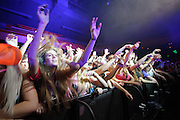 Fans at Rusko's  performance at the Pageant in St. Louis, Missouri on February 27, 2012.