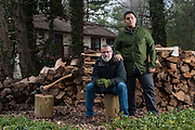 COLUMBIA, MD -- 12/20/14 -- Mark Johnson-Lewis, 48, and his son, Tyler Lewis, 22, talk about the complexity of being a biracial family..…by André Chung #_AC23240