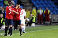 Fotball<br /> Treningskamp / Private Game<br /> Norge v Tsjekkia<br /> Norway v Czech Republic<br /> 10.08.2011<br /> Foto: Morten Olsen, Digitalsport<br /> <br /> Kim Andre Madsen makes his debut and replaces Kjetil Wæhler - Norway