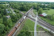 63807-01019 Freight train on Canadian National railroad near Kinmundy, IL