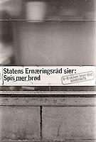 Statens Ernæringsråd sier: Spis mer brød. 6-8 skiver hver dag. Foto: Svein Ove Ekornesvåg