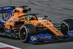 February 19, 2019 - Barcelona, Catalonia, Spain - LANDO NORRIS (GBR) from team McLaren drives in his in his MCL34 during day two of the Formula One winter testing at Circuit de Catalunya (Credit Image: © Matthias OesterleZUMA Wire)