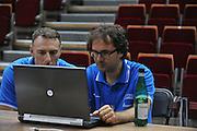Danzica - Polonia 05 Agosto 2012 - TORNEO INTERNAZIONALE SOPOT CUP - Allenamento<br /> Nella Foto : FRANCESCO CUZZOLIN FIORETTI<br /> Foto Ciamillo