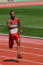 August 6, 2018 - Paris, France - At the Charlety Stadium, was held on 06 August the start of the 2018 Gay Games Track Et Field competition. (Credit Image: © Julien Mattia/Le Pictorium Agency via ZUMA Press)