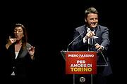 © Filippo Alfero<br /> Matteo Renzi sostiene la candidatura di Piero Fassino a Sindaco di Torino<br /> Torino, Teatro Alfieri, 30/05/2016<br /> Nella foto: