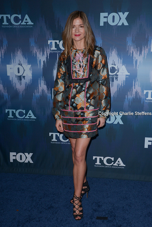 JILL HENNESSEY at the Fox Winter TCA 2017 All-Star Party at the Langham Hotel in Pasadena, California