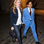 NLD/Hilversum/20130317 - Wibi Soerjadi en partner Celine van Riemsdijk,