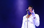 WASHINGTON, D.C. - DECEMBER 28th, 2010: Former American Idol winner Fantasia Barrino performs at DAR Constitution Hall as part of her Back To Me tour. She released an album of the same name in August.  (Photo by Kyle Gustafson/For The Washington Post)