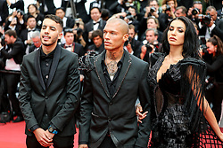 May 14, 2019 - Cannes, France - CANNES - MAY 14:  Jeremy Meeks and guests arrives to the premiere of ''THE DEAD DON'T DIE .'' during the 2019 Cannes Film Festival on May 14, 2019 at Palais des Festivals in Cannes, France. (Credit Image: © Imagespace via ZUMA Wire)