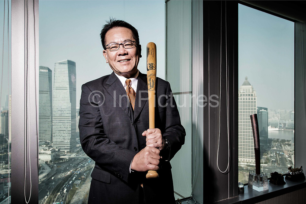Li Songjiang, CEO of UPS China Group photographed at his office in Shanghai, China on 19 December 2013.