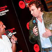 NLD/Amsterdam/20110418 - Persconferentie TMF Awards 2011, Amir Blumenfeld en Marco Borsato