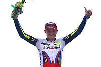 Podium, KRISTOFF Alexander (NOR) Katusha, winner, during the Tour of Oman 2015, stage 3, Al Mussanah Sports City - Al Mussanah Sports City (158,5Km) on February 19, 2015. Photo Tim de Waele / DPPI