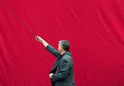 04.08.2017, Löwelstraße, Wien, AUT, SPÖ, Plakatpräsentation anlässlich der vorgezogenen Nationalratswahl 2017. im Bild Bundesgeschäftsführer Georg Niedermühlbichler // during placard presentation of the austrian social democratic party due to Austrian general elections 2017 in Vienna, Austria on 2017/08/04. EXPA Pictures © 2017, PhotoCredit: EXPA/ Michael Gruber