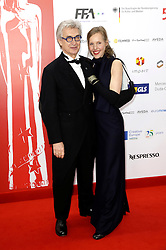 December 10, 2016 - Wroclaw, Lower Silesian, Deutschland - Wim Wenders and his wife Donata attend the 29th European Film Awards 2016 at the National Forum of Music on December 10,2016 in Wroclaw, Poland. (Credit Image: © Future-Image via ZUMA Press)
