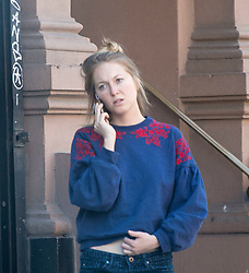 EXCLUSIVE: India Oxenberg, 26 shows up for her shift at Plant Made Vegan Cafe in Manhattan. Oxenberg is the daughter of actress Catherine Oxenberg, and a member of alleged sex cult, Nxivm. The leader of the cult is Keith Raniere, who is in jail. ***NO NEW YORK DAILY NEWS, NO NEW YORK TIMES, NO NEWSDAY***. 23 Apr 2018 Pictured: India Oxenberg, 26, shows up for her shift at Plant Made Vegan Cafe in Manhattan on April 23rd, 2018. Oxenberg is the daughter of actress Catherine Oxenberg, and a member of alleged sex cult, Nxivm. The leader of the cult is Keith Raniere, who is in jail. Photo by Richard Harbus for the New York Post. Photo credit: Richard Harbus / MEGA TheMegaAgency.com +1 888 505 6342